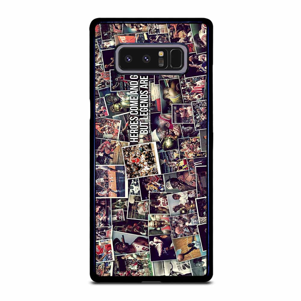MICHAEL JORDAN LEGEND WALL Samsung Galaxy Note 8 case
