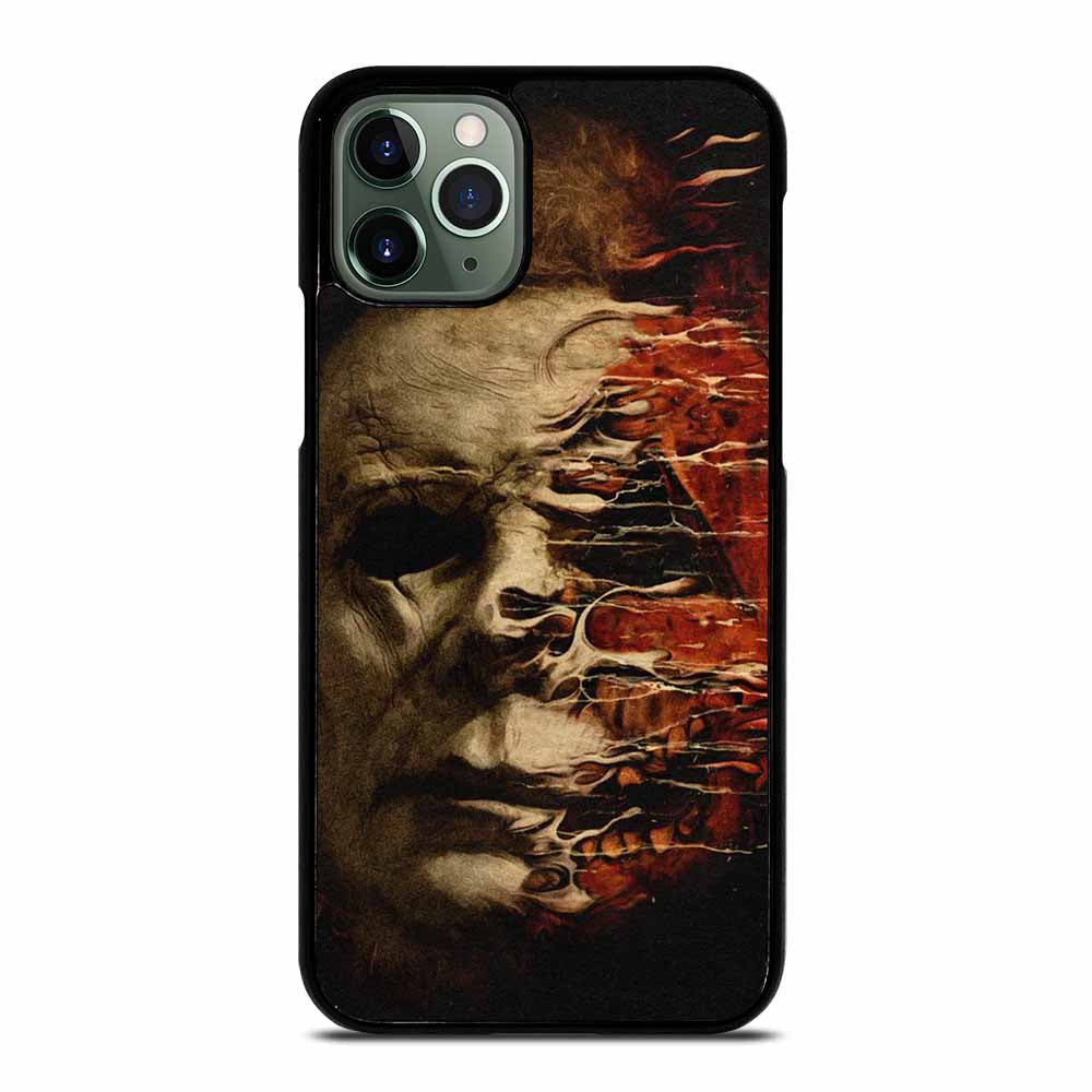 MICHAEL MYERS HALLOWEEN FACE iPhone 11 Pro Max Case