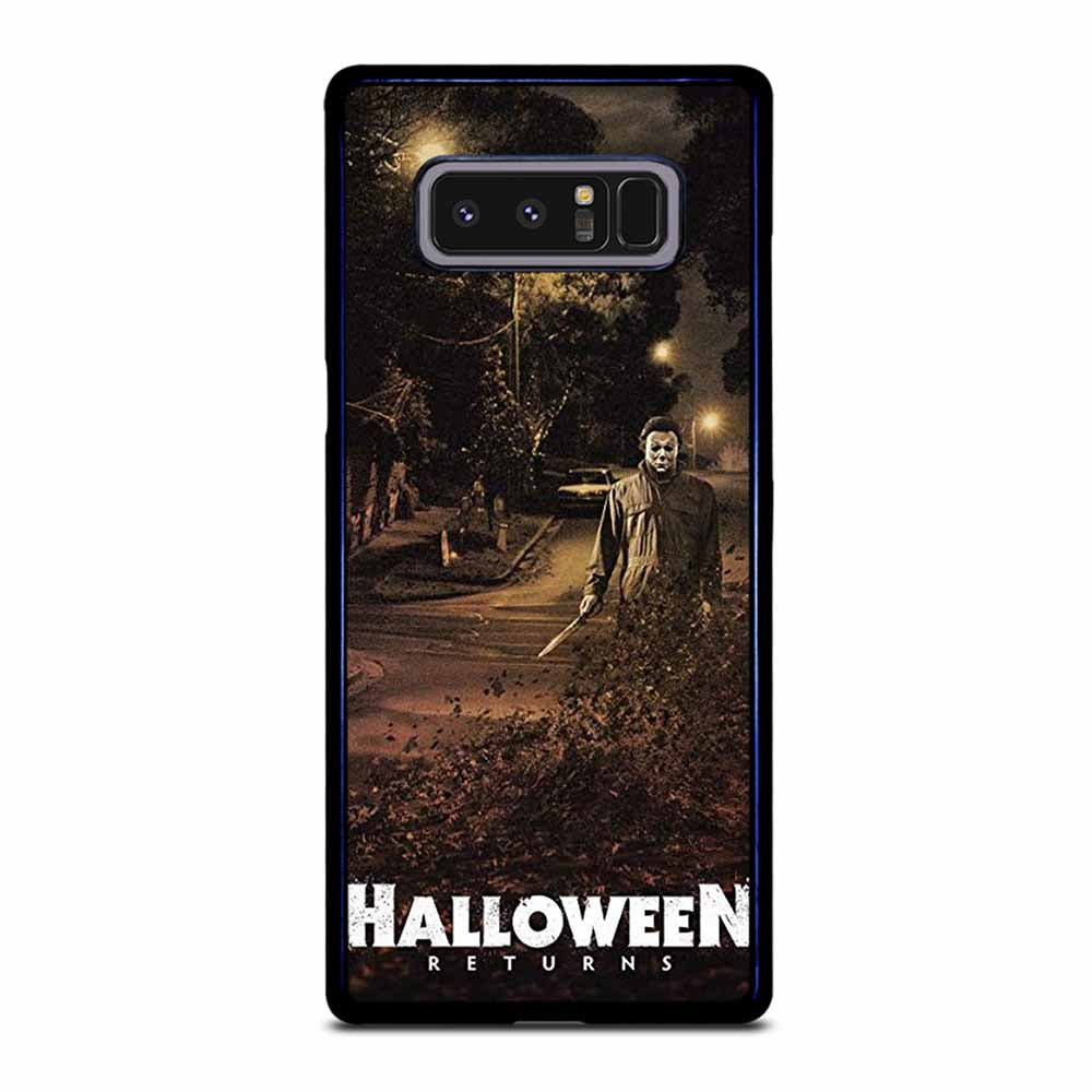 MICHAEL MYERS HALLOWEEN RETURNS Samsung Galaxy Note 8 case
