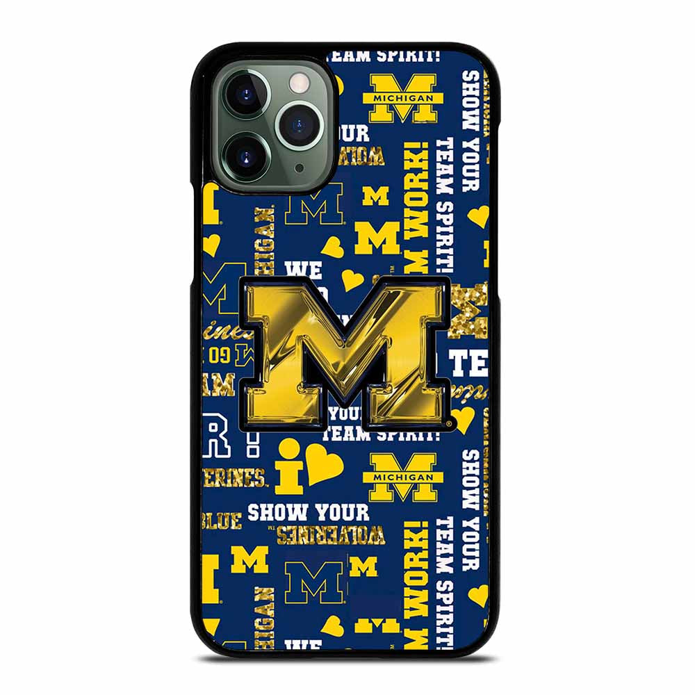 MICHIGAN WOLVERINES ICON iPhone 11 Pro Max Case