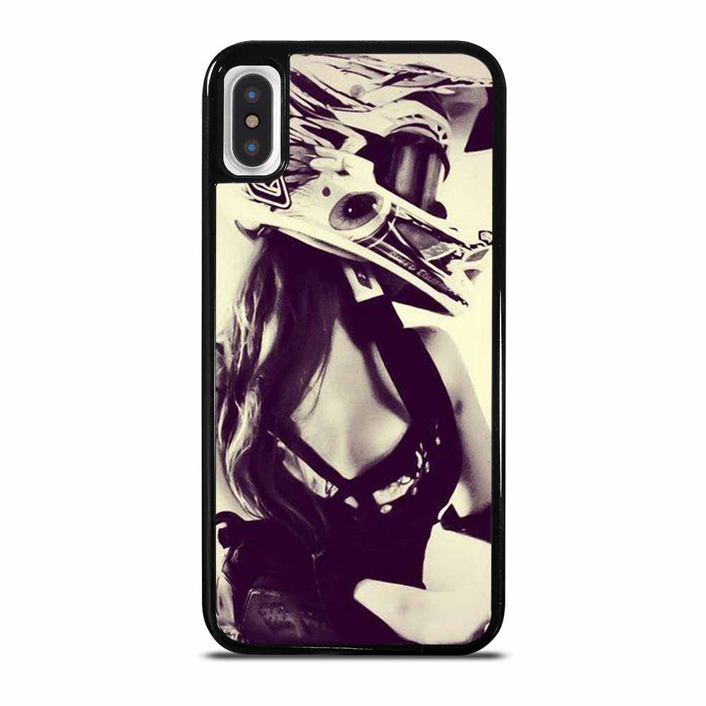 MOTOCROSS GRIL RIDERS MOTORCYCLE iPhone X / XS Case