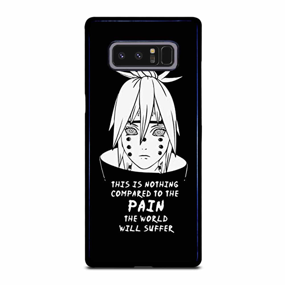 NARUTO PAIN PUPPET QUOTE Samsung Galaxy Note 8 case