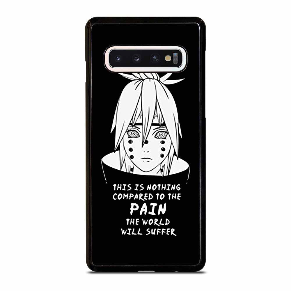 NARUTO PAIN PUPPET QUOTE Samsung Galaxy S10 Case