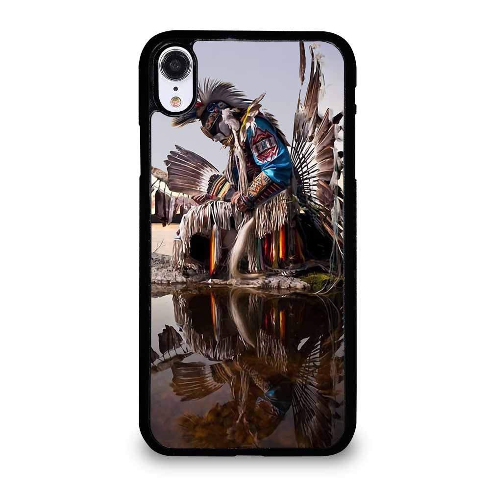 NATIVE AMERICAN INDIAN FEATHERS iPhone XR Case
