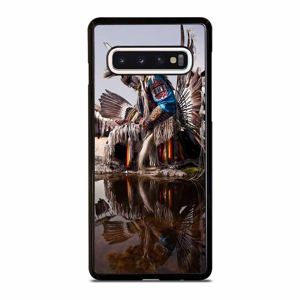 NATIVE AMERICAN INDIAN FEATHERS Samsung Galaxy S10 Case