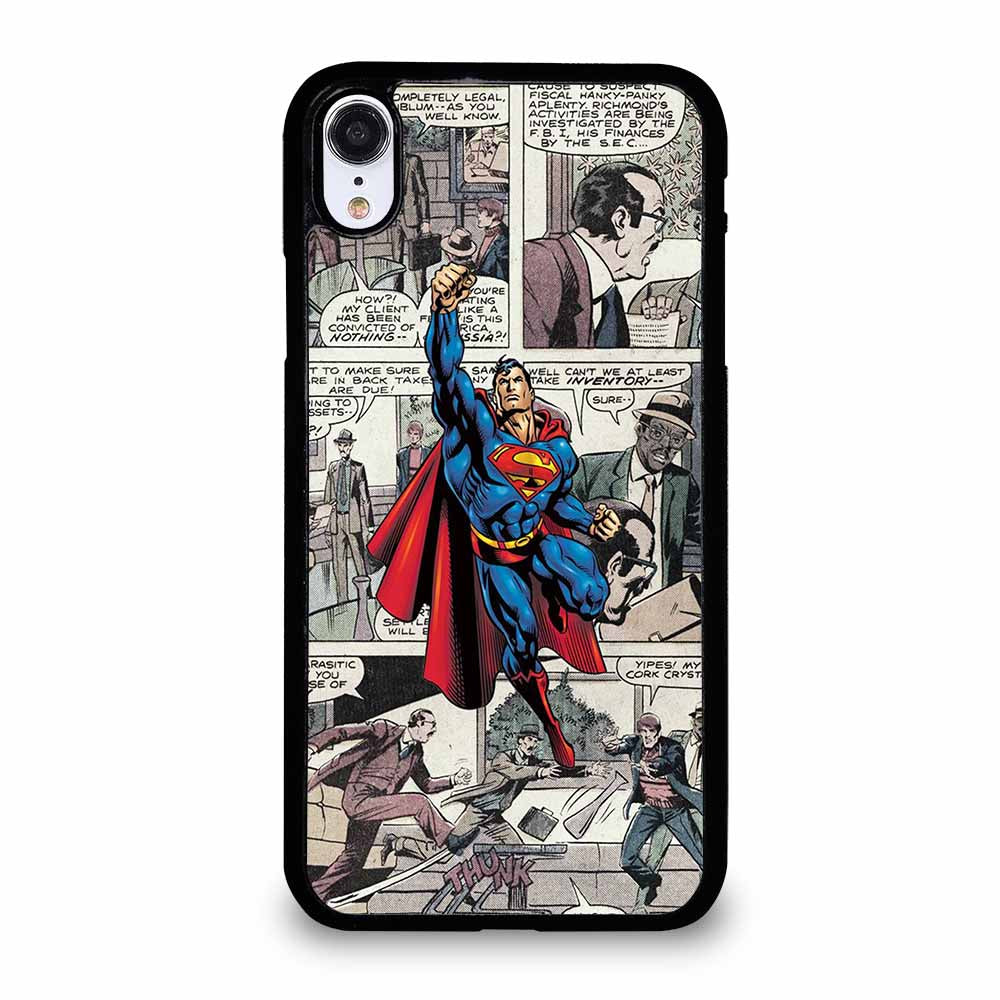 NEW SUPERMAN COMIC iPhone XR case