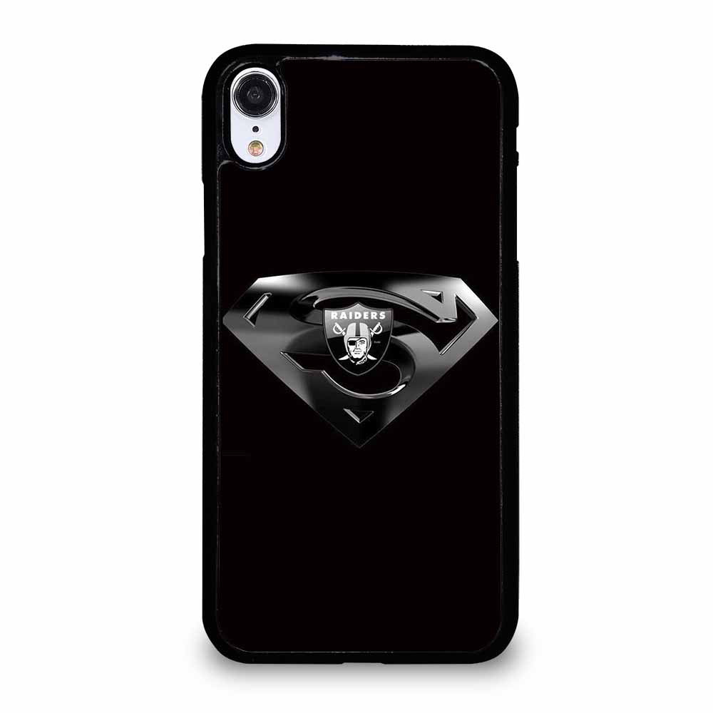OAKLAND RAIDERS SUPERMAN iPhone XR case