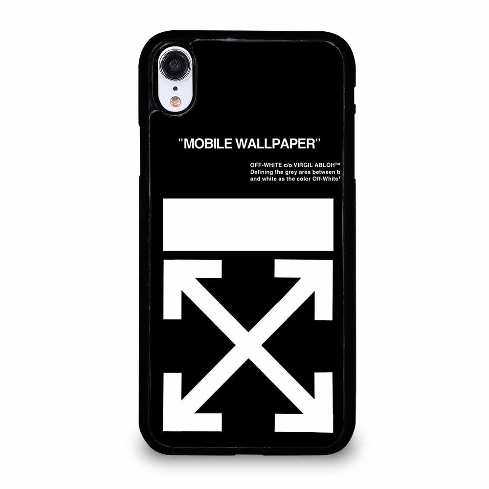 OFF WHITE iPhone XR case