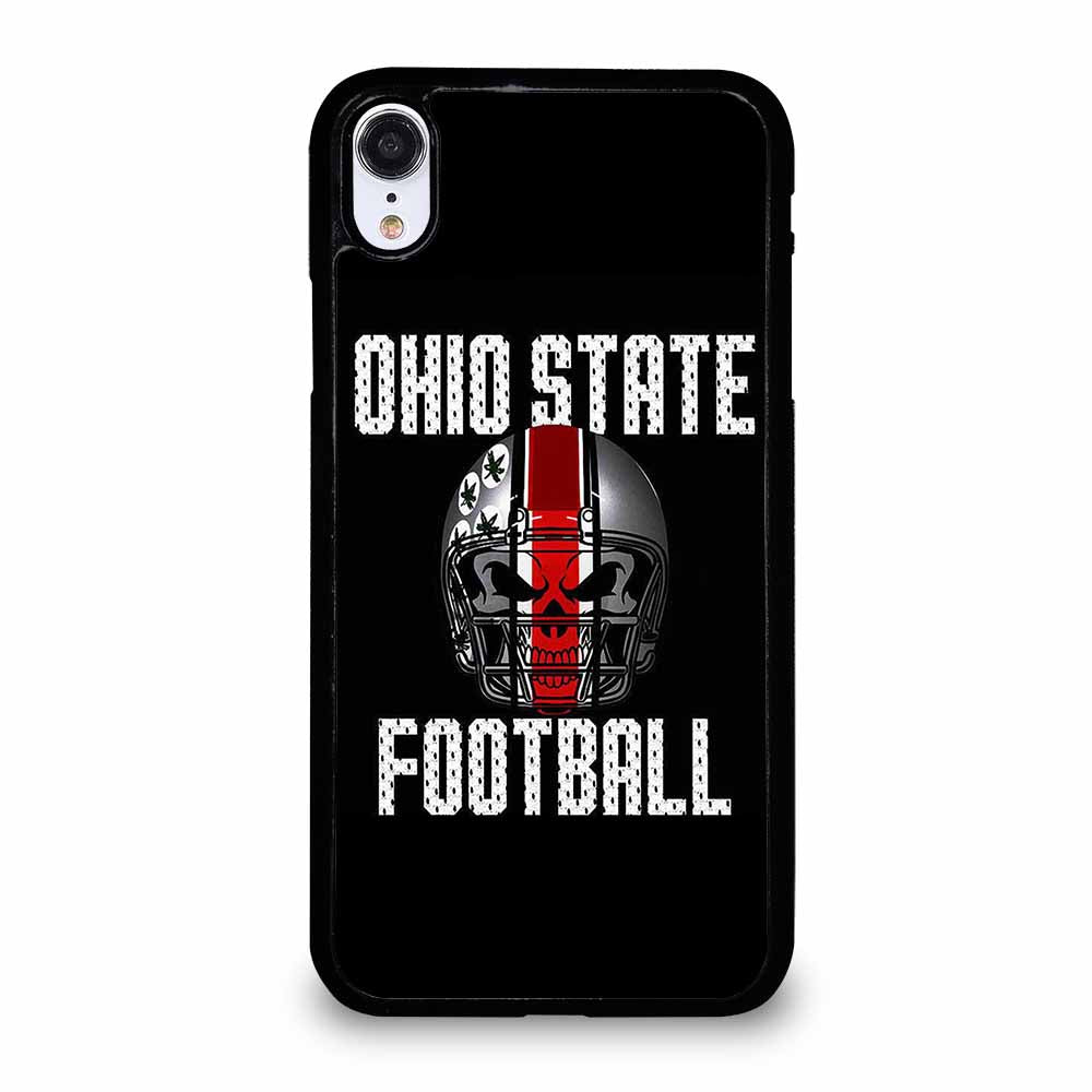 OHIO STATE FOOTBALL SKULL iPhone XR case