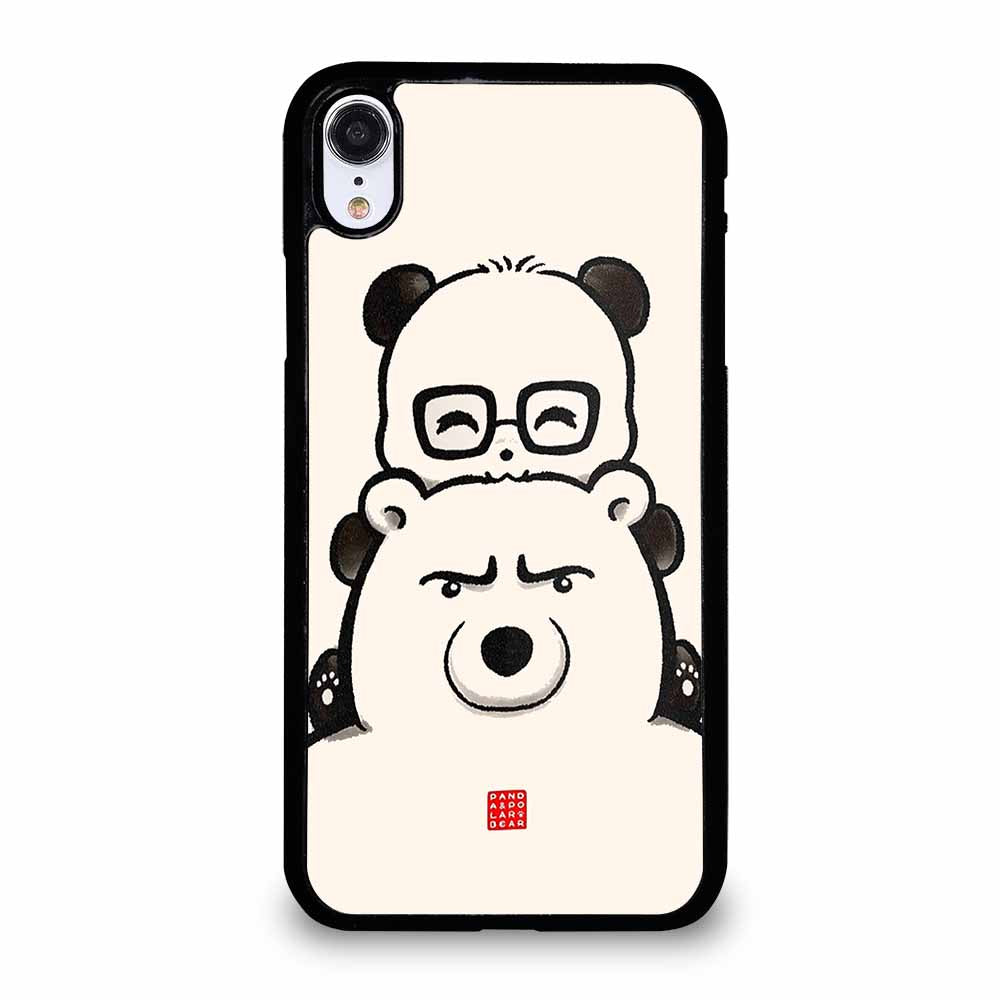 PANDA AND POLAR BEAR iPhone XR case