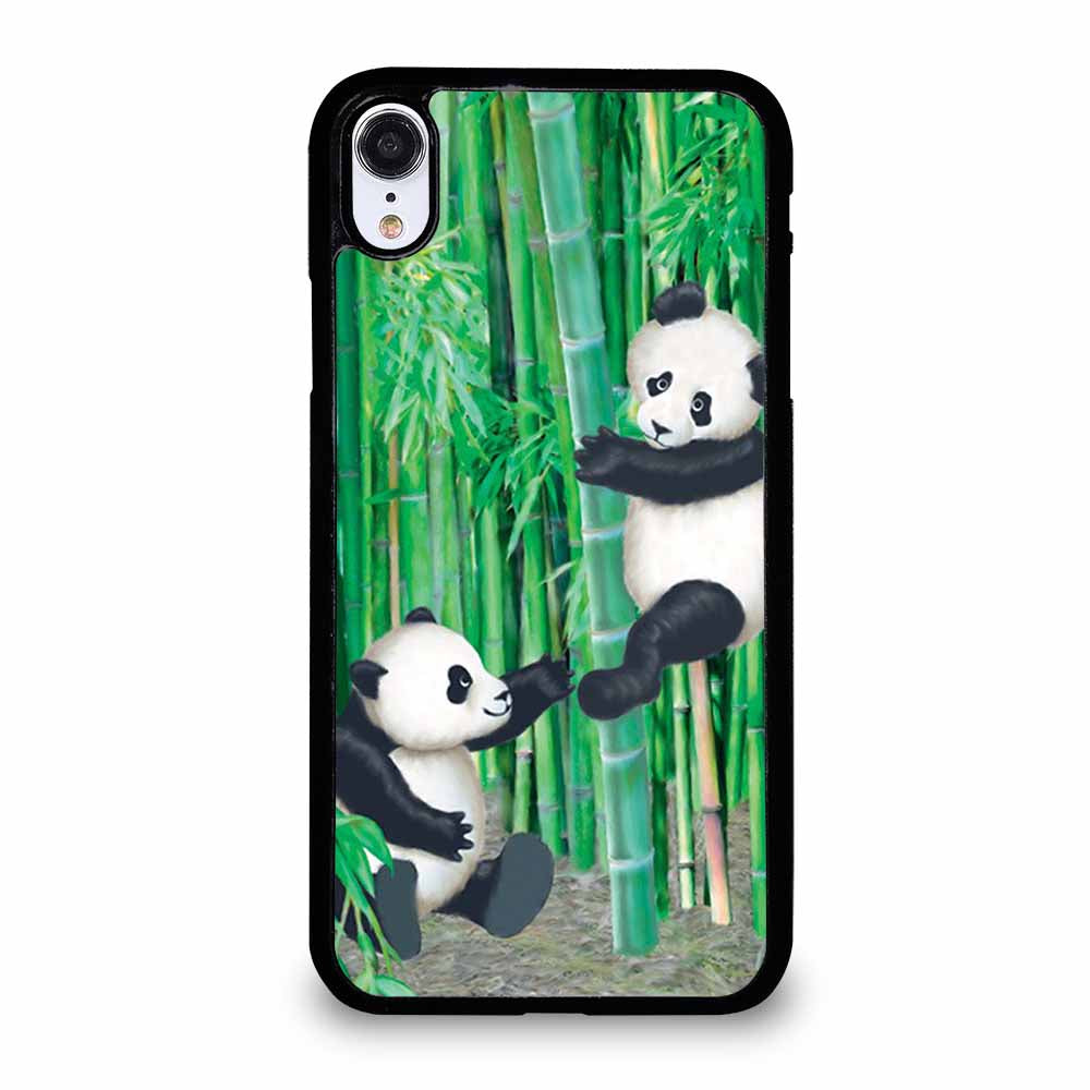 PANDA IN BAMBOO iPhone XR case