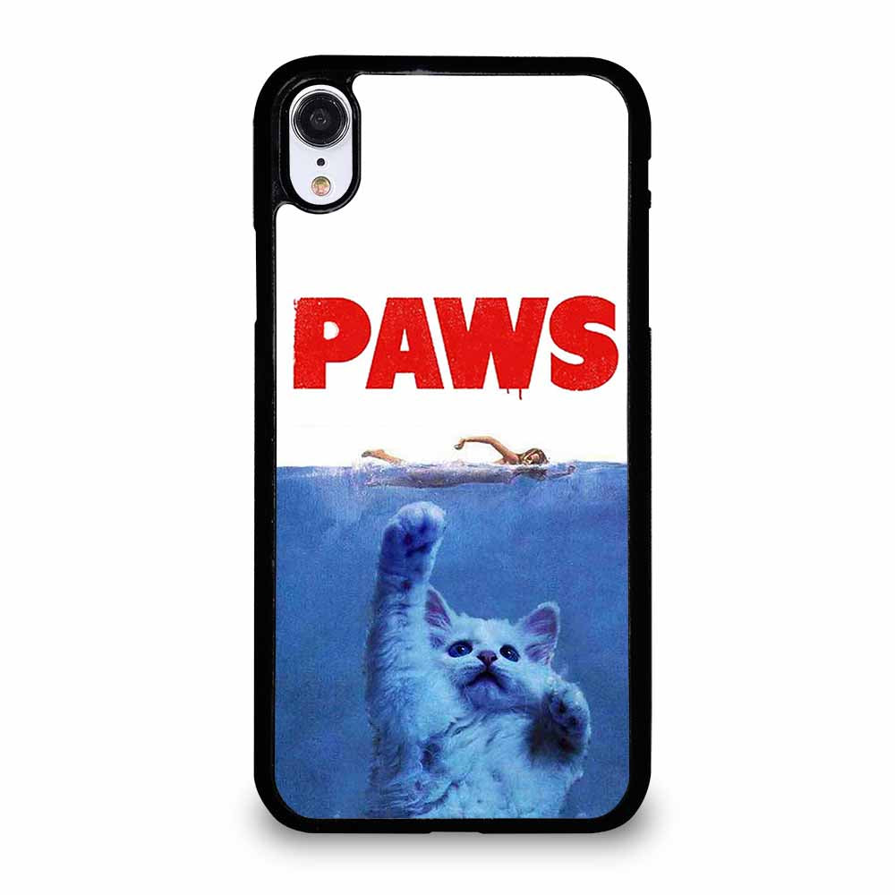 PAWS JAWS CAT iPhone XR case