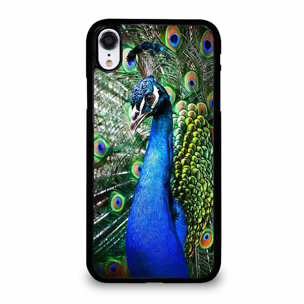 PEACOCK iPhone XR case