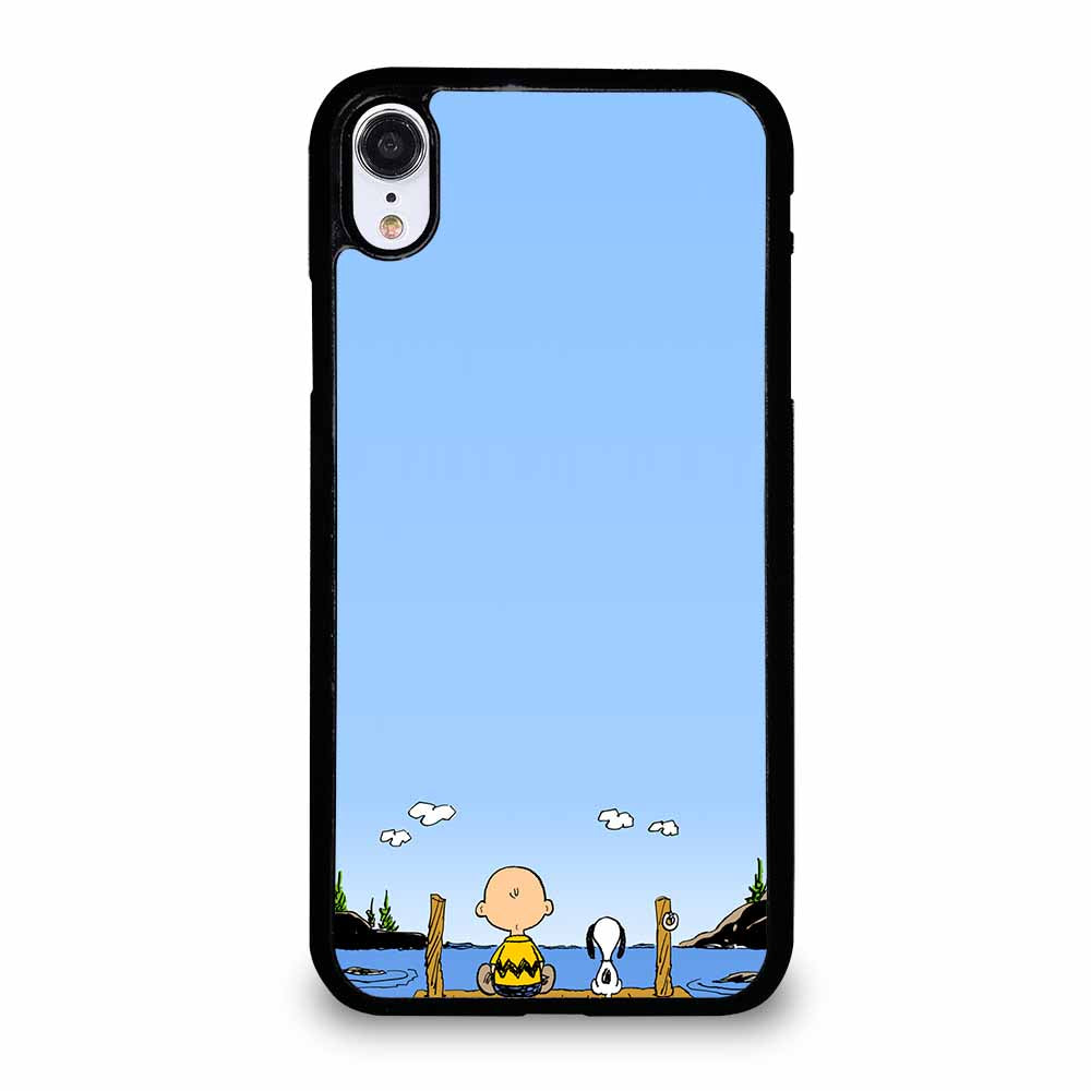 PEANUTS CHARLIE BROWN SNOOPY 1 iPhone XR case
