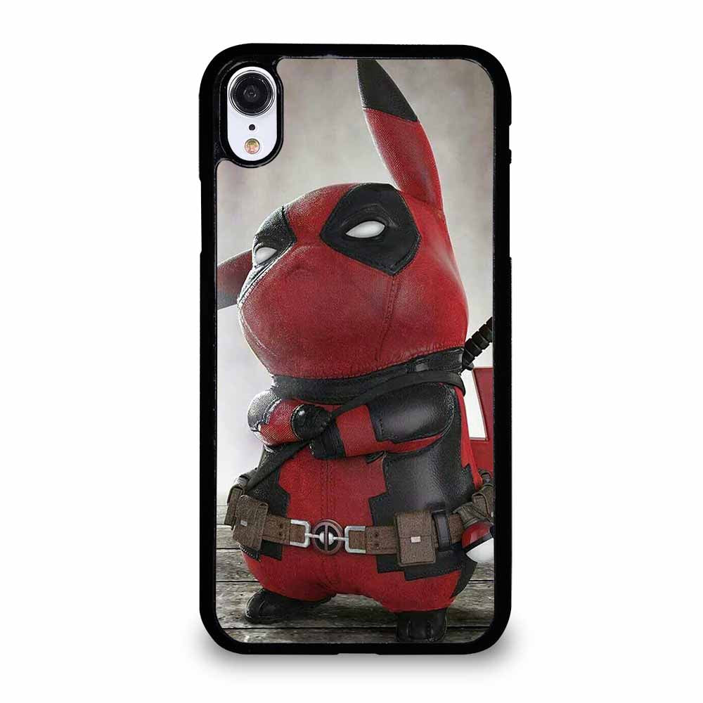 PIKACHU DEADPOOL iPhone XR case