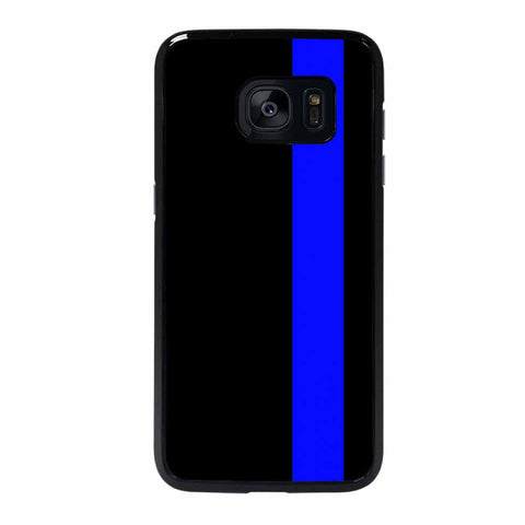 POLICE BLUE LINE Samsung Galaxy S7 Edge Case