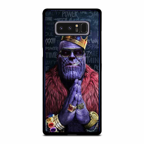 POWER TIME THANOS Samsung Galaxy Note 8 case