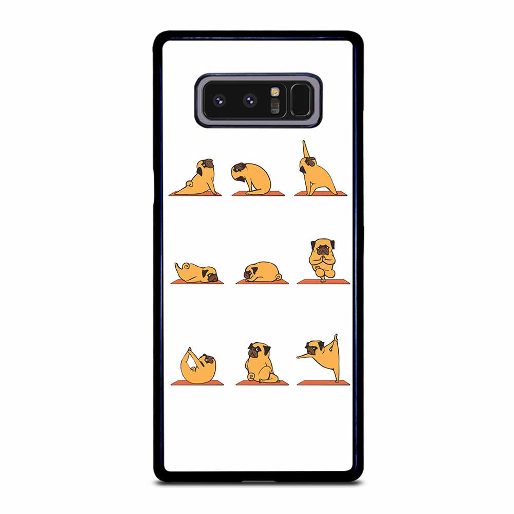 PUG YOGA Samsung Galaxy Note 8 case