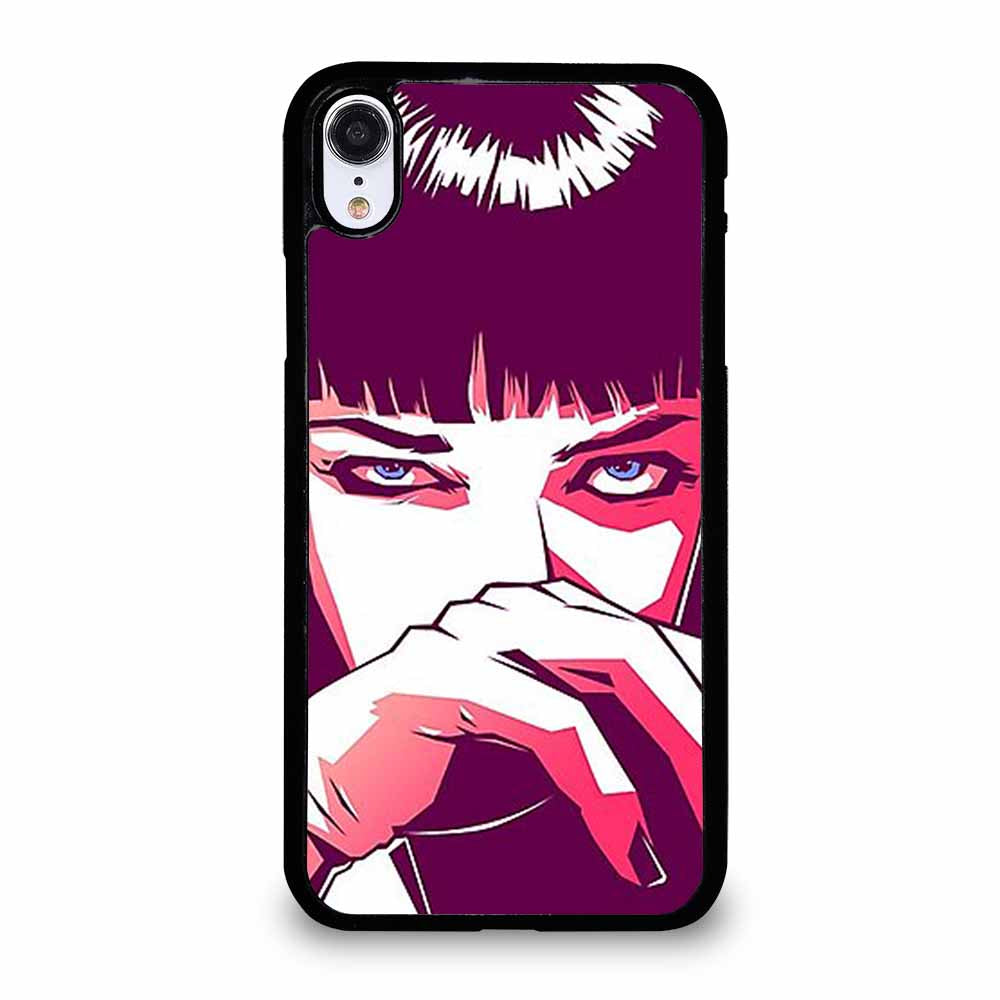 PULP FICTION MIA WALLACE iPhone XR case