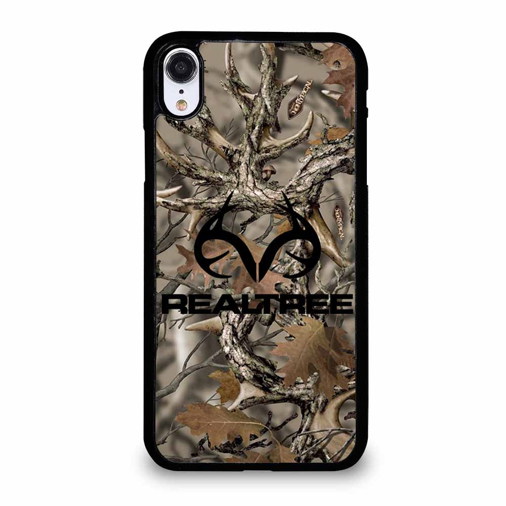 REALTREE CAMO LOGO iPhone XR case