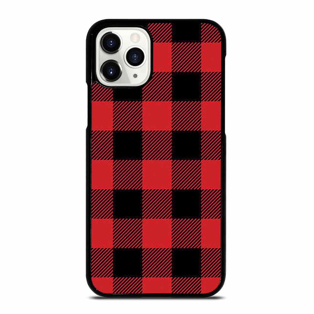 RED BUFFALO CHECK PATTERN iPhone 11 Pro Case