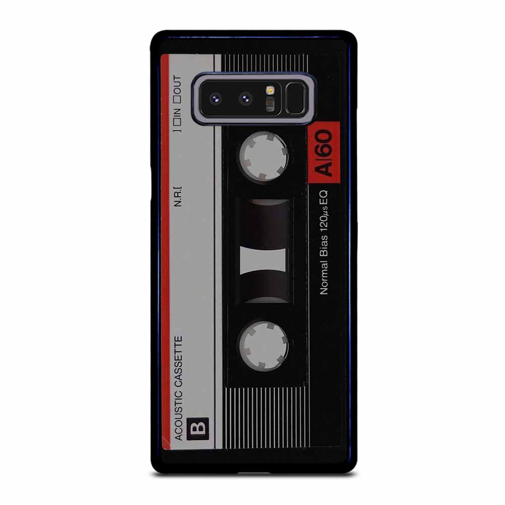 RETRO CASSETTE TAPE Samsung Galaxy Note 8 case