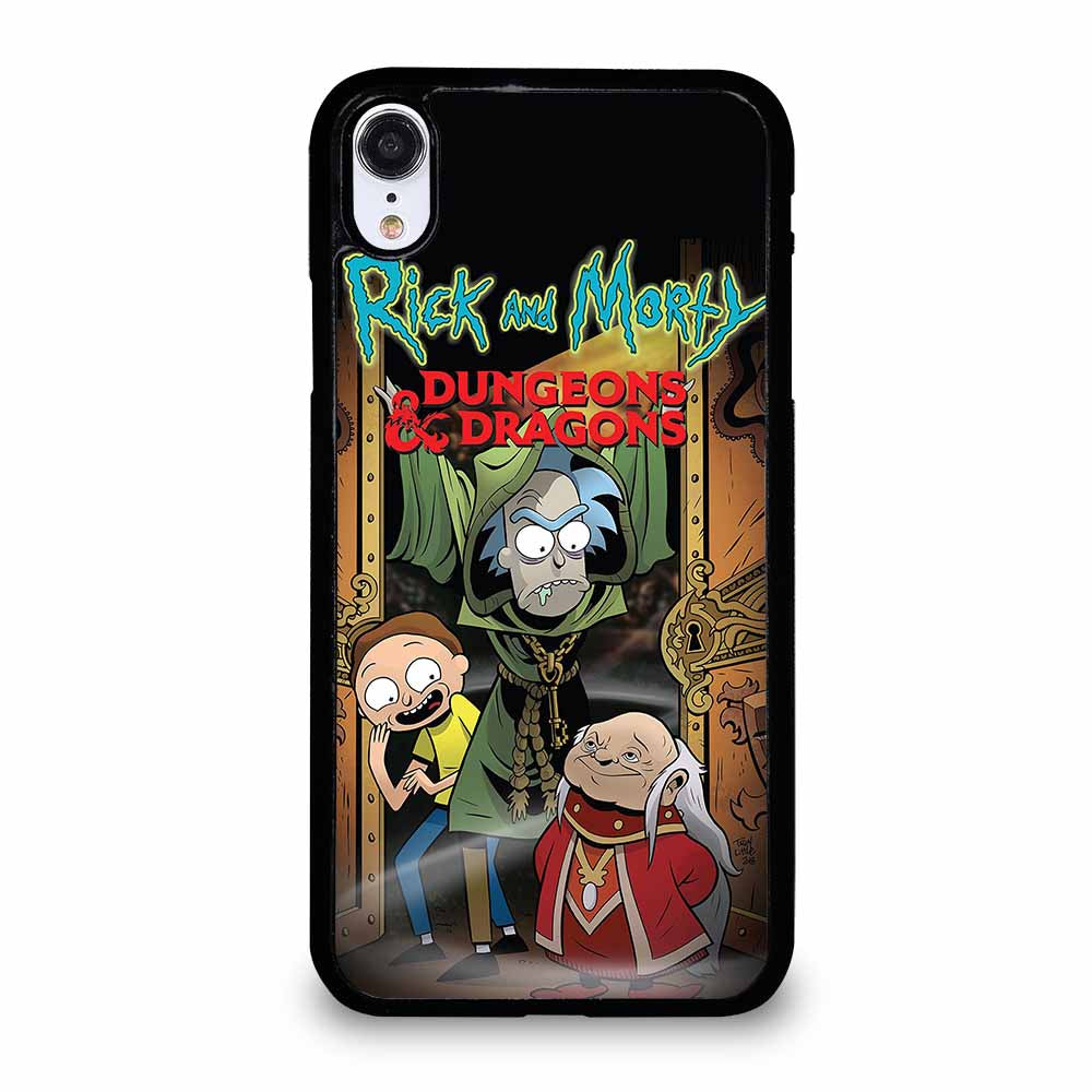 RICK AND MORTY DUNGEONS & DRAGONS iPhone XR case