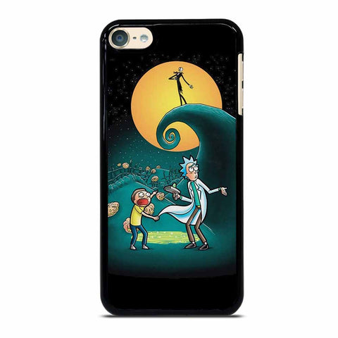 RICK AND MORTY PORTAL NIGHTMARE BEFORE CHRISTMAS iPod 6 Case