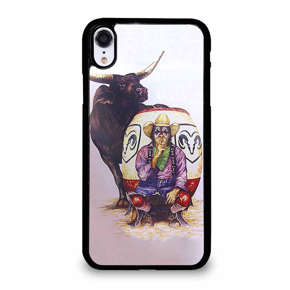 RODEO COWBOY BULL iPhone XR case