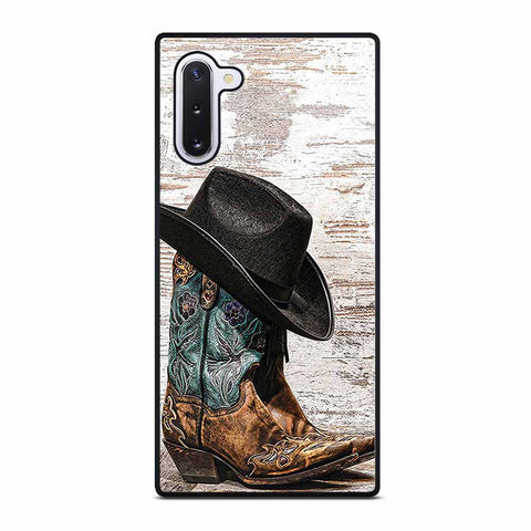 RODEO COWBOY LASSO BOOTS #1 Samsung Galaxy Note 10 Case