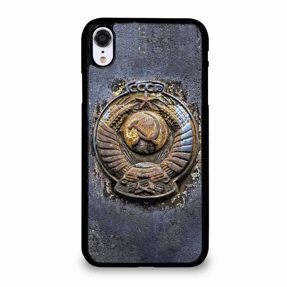RUSSIA USSR SOVIET COAT OF ARMS iPhone XR case