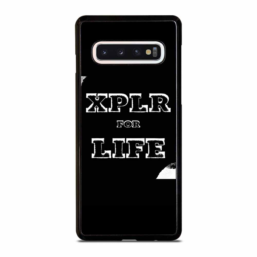 SAM AND COLBY XPLR #D6 Samsung Galaxy S10 Case
