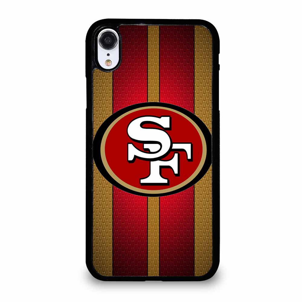 SAN FRANCISCO 49ERS FOOTBALL iPhone XR case