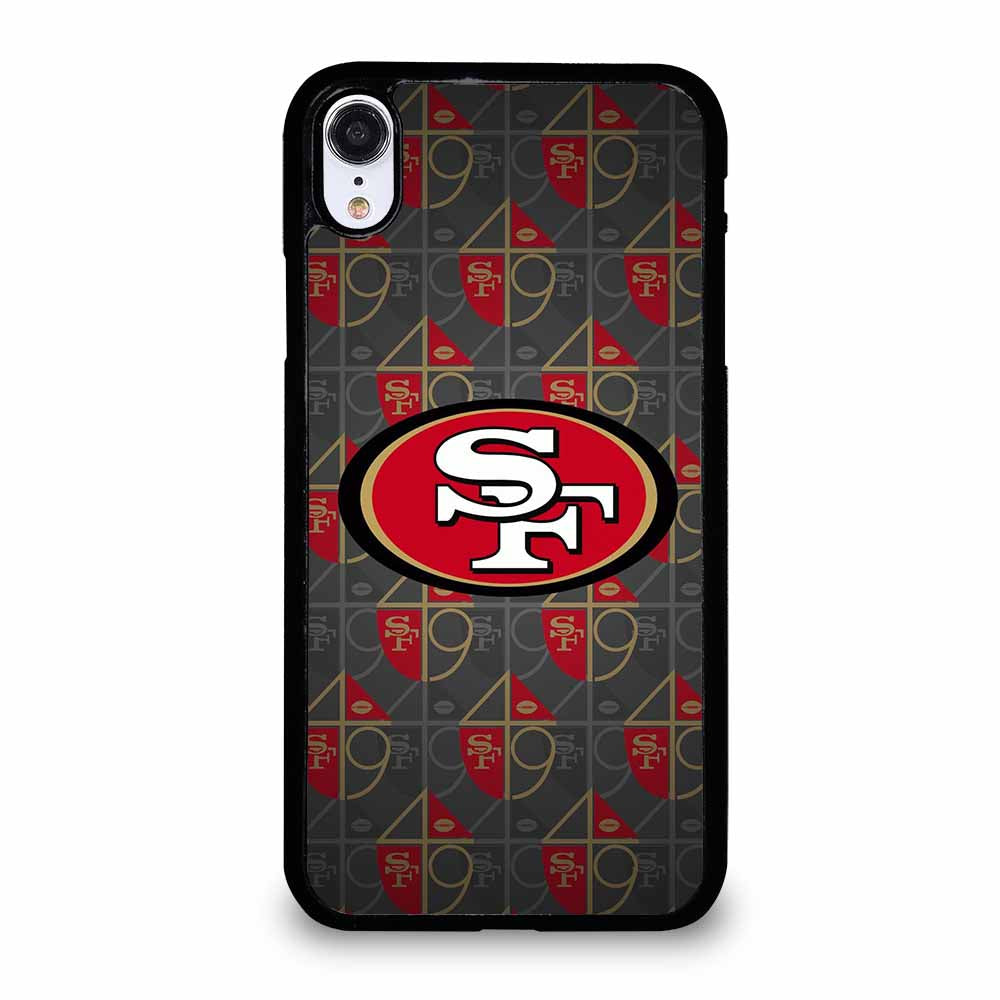 SAN FRANCISCO 49ERS FOOTBALL 1 iPhone XR case