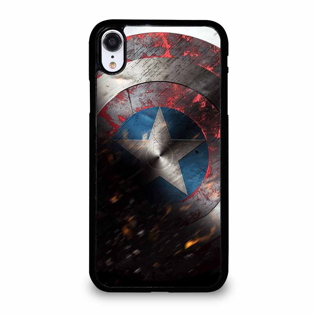 SHIELD CAPTAIN AMERICA iPhone XR case