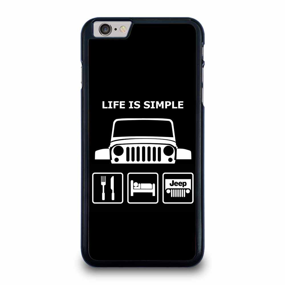 SLEEP EAT AND JEEP 1 iPhone 6 / 6s Plus Case