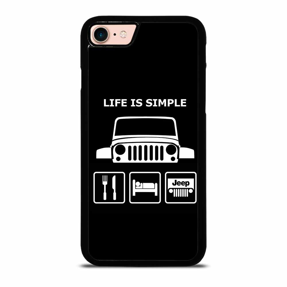 SLEEP EAT AND JEEP #1 iPhone 7 / 8 Case