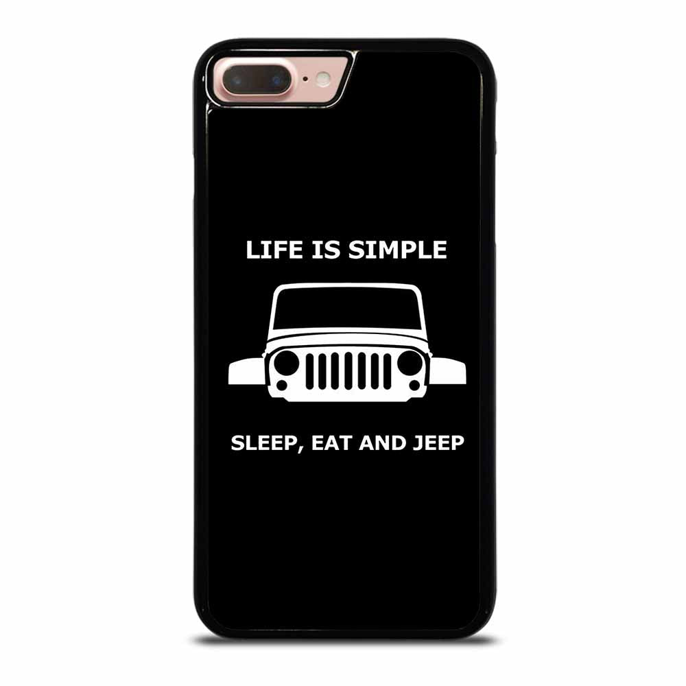 SLEEP EAT AND JEEP iPhone 7 / 8 Plus Case