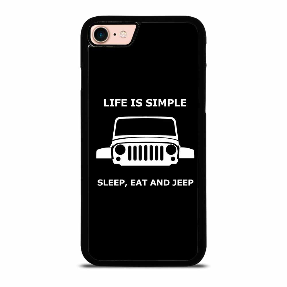 SLEEP EAT AND JEEP iPhone 7 / 8 Case