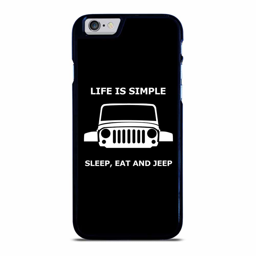 SLEEP EAT AND JEEP iPhone 6 / 6S Case