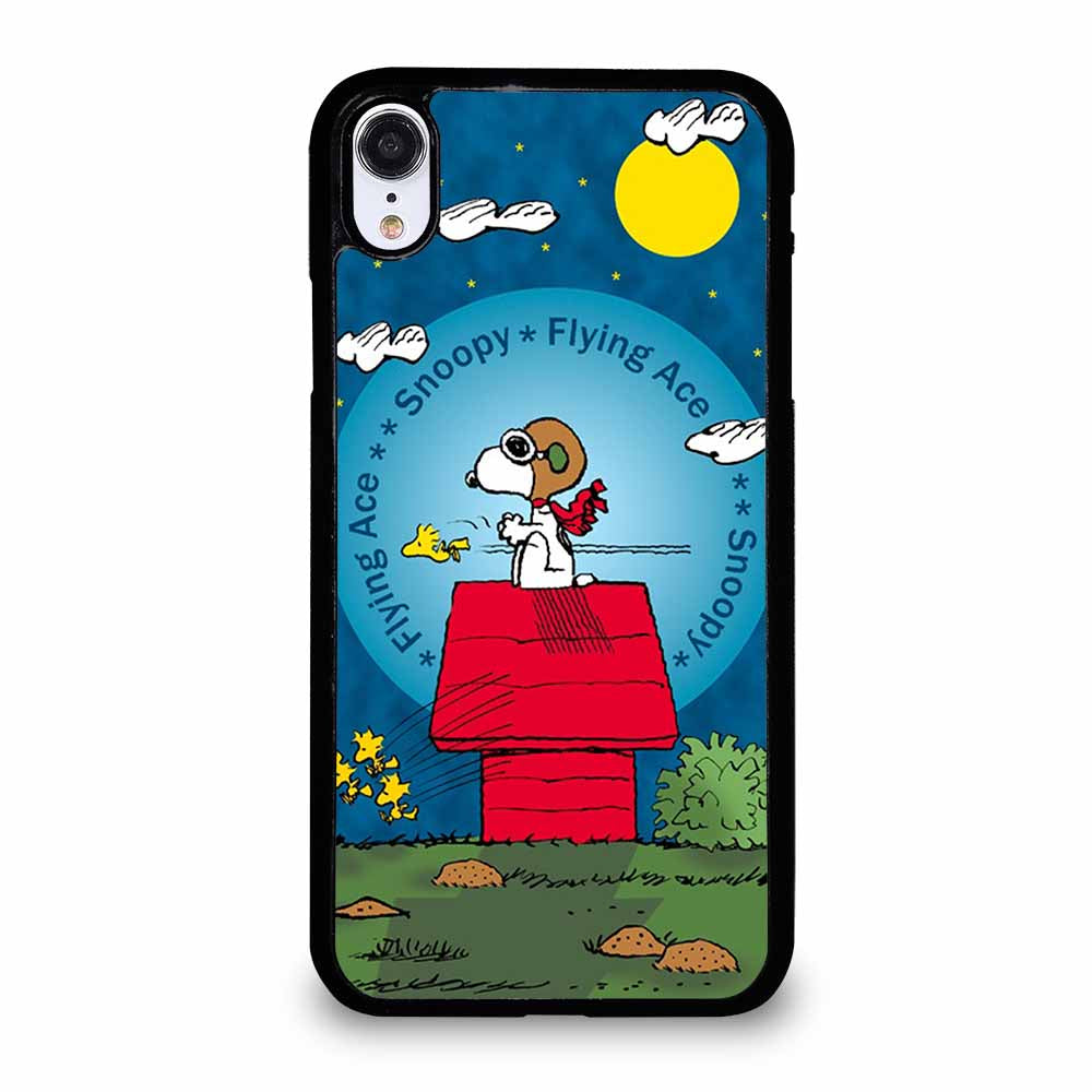 SNOOPY THE FLYING ACE iPhone XR case