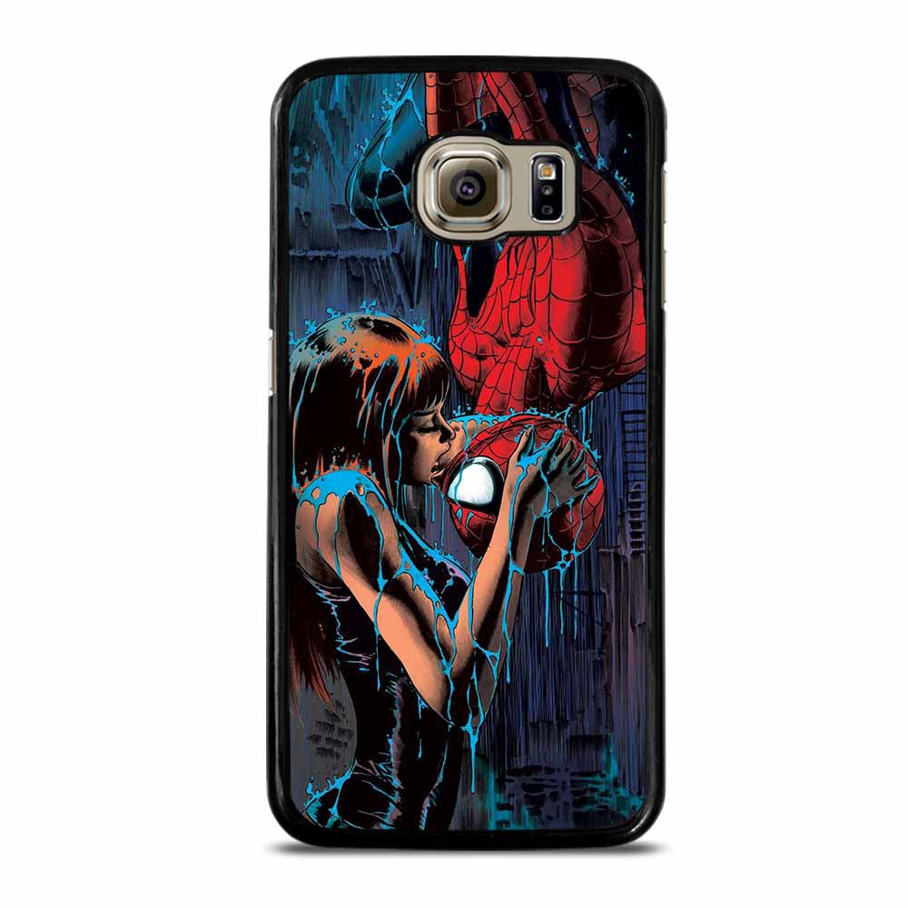 SPIDERMAN MARY JANE KISSING Samsung Galaxy S6 Case