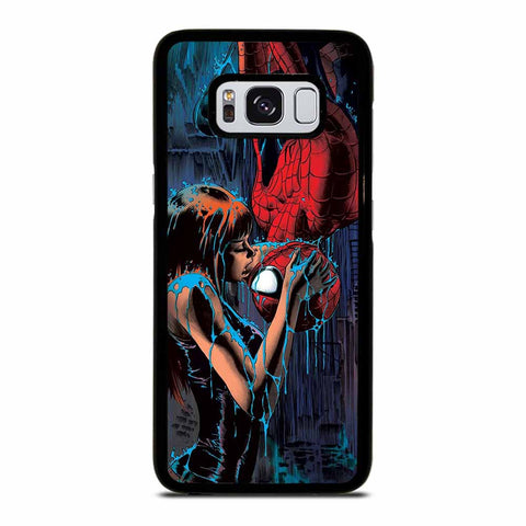 SPIDERMAN MARY JANE KISSING Samsung Galaxy S8 Case