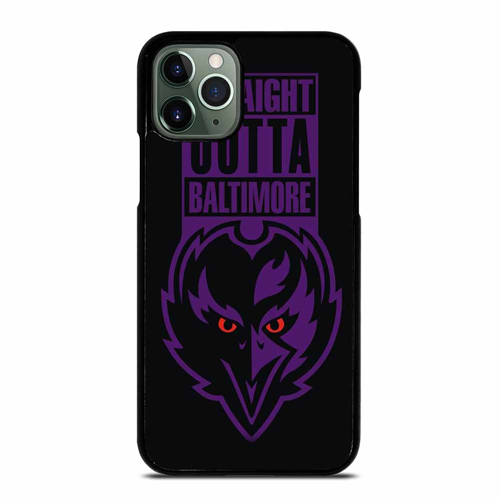 STRAIGHT OUTTA BALTIMORE BALTIMORE RAVENS iPhone 11 Pro Max Case