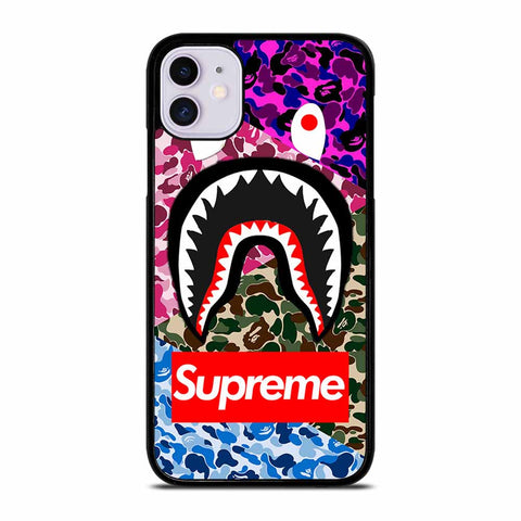 SUPER BAPE TRIP CAMO iPhone 11 Case