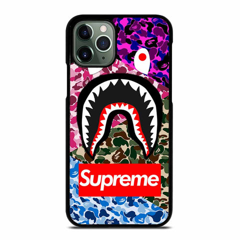 SUPER BAPE TRIP CAMO iPhone 11 Pro Max Case