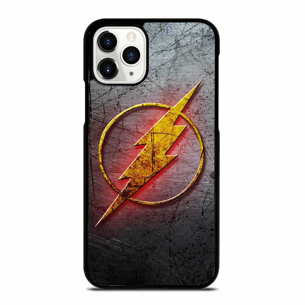THE FLASH SUPERHERO LOGO iPhone 11 Pro Case