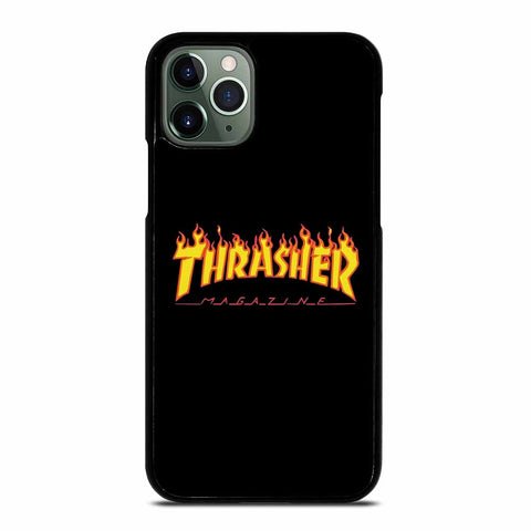 THRASHER FLAMES MAGAZINE iPhone 11 Pro Max Case