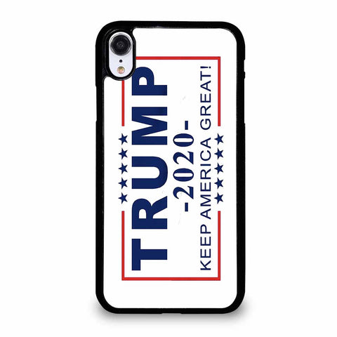 TRUMP 2020 WHITE iPhone XR case