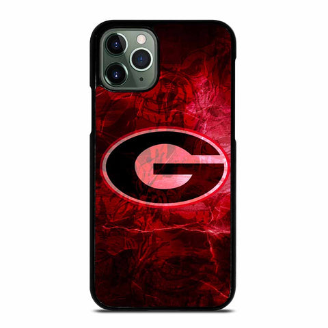 UGA GEORGIA BULLDOGS LOGO iPhone 11 Pro Max Case